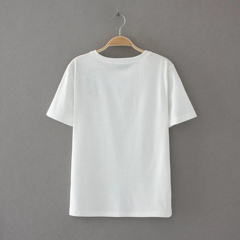 HTB1otkQQXXXXXciapXXq6xXFXXXI - Women Cotton Slim Floral Tshirts Casual Street Daily