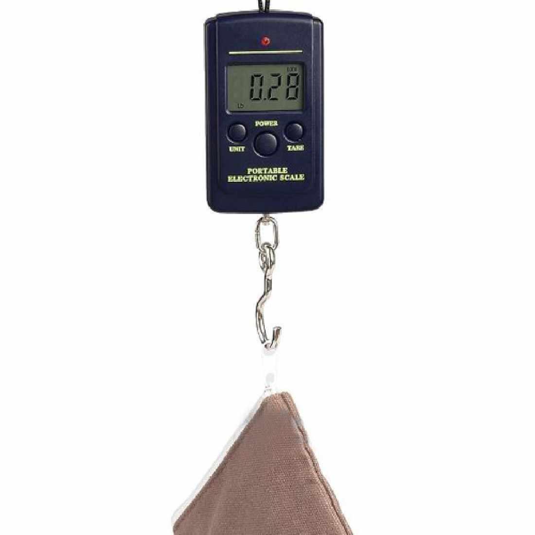 Горячая Многофункциональный Портативный Мини 40 кг/10 г Электронный подвесной рыболовный Чемодан Balanca цифровой удобный карманные весы с крючком