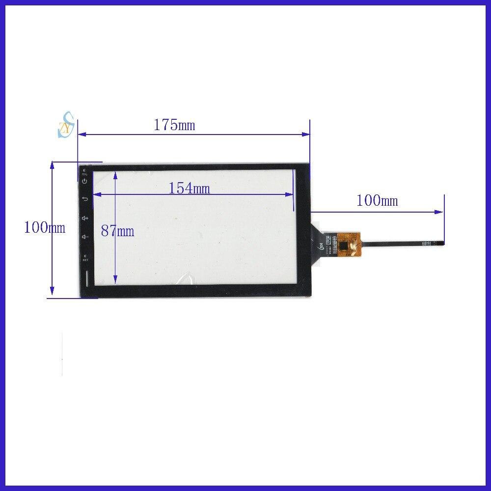 AHR-7580 ZhiYuSun Compatível Novo 7 polegada 175*100 Capacitivo Sensor de Vidro Frete Grátis GT911 esolution compatível