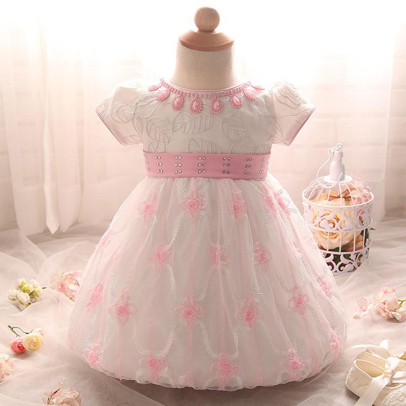Newborn Birthday Dress (1)