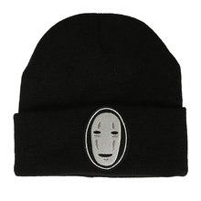 Ligth вес для мужчин женщин хип хоп Skullies шапка вязаная призрак манжеты шапочки зимние шапки черный