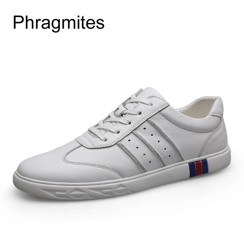 Verão Masculina 2019 Confortáveis Casuais Phragmites Moda Leather Flock black Sapatos Upper Homens branco De Sapatas Nova Do Dos Calçados Upper O55Xv1x