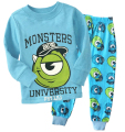 Children Pajamas Boys Cotton Nightwear monster Cartoon Loungewear Kids Boys Homewear Autumn Sleepwear set