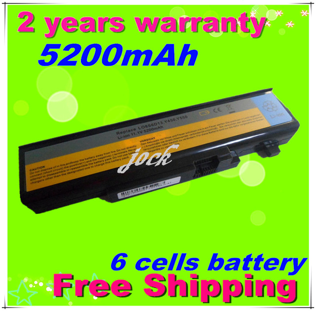 JIGU Laptop Battery For Lenovo IdeaPad Y550 Y550A Y550P Y450 Y450A Y450G  55Y2054 L08O6D13 L08S6D13  L08L6D13