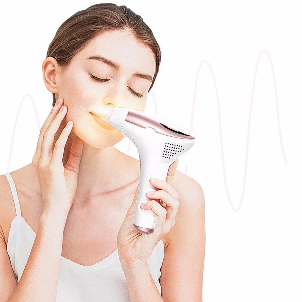 Épilateur indolore Permanent d'épilation de Machine d'épilation de Laser de chargement initial de MLAY pour le dispositif d'utilisation à la maison de Bikini d'aisselle de corps de visage