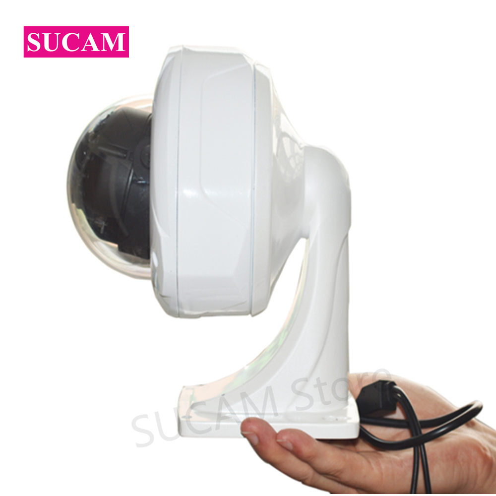 SUCAM OSD Cable 2MP AHD Security Camera Fisheye 180 Degree 1080P Dome 20M Surveillance CCTV Infrared Camera with Metal Bracket