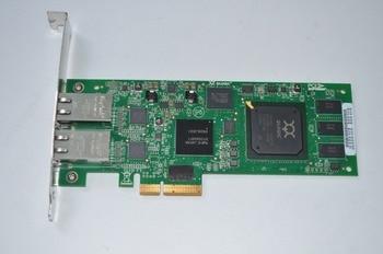RaidStorage QLogic QLE4062C-CK QLE4062C 2 Port 1GbE iSCSI Adapters TCP/IP network PciE Controller Card