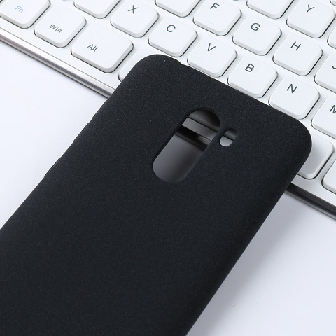 For Xiaomi Pocophone F1 Case Soft TPU Silicone Plain Matte Anit-knock Protective Shell Back Cover For Xiaomi Poco F1 Cases Bag Lahore