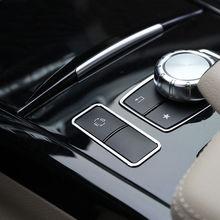 Auto Consolle Centrale ES Pulsante Telaio di Copertura Trim Per Mercedes Benz Classe E W212 C207 E260 E350 Coupe 13-17 E200 Accessori Auto