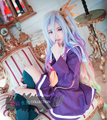 No Game No Life Cos Wig Hair Shiro Multi-Color Mixed High Quality Wigs Halloween Party Carnival Cosplay Free Shipping
