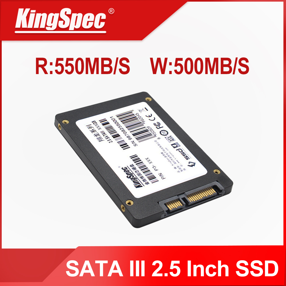 Kingspec SSD Disk Sdd Hard-Drive Laptop 240GB Internal 60GB 1TB 120 2TB 30GB