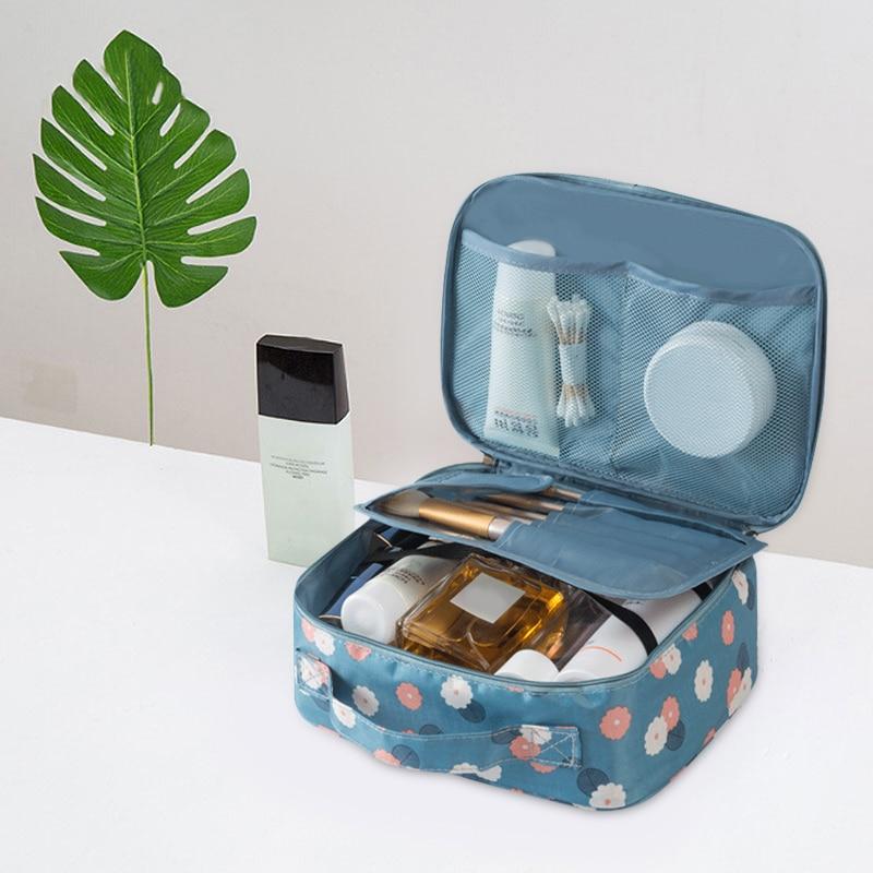Для женщин Путешествия организации Красота косметички хранения леди туалетные составляют Сумочка чехол аксессуары поставок пункт вещи