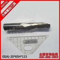 20*65H*115L Carbide CNC Router Bits Single Flute Tools/One Flute Spiral Bits (A) A Series