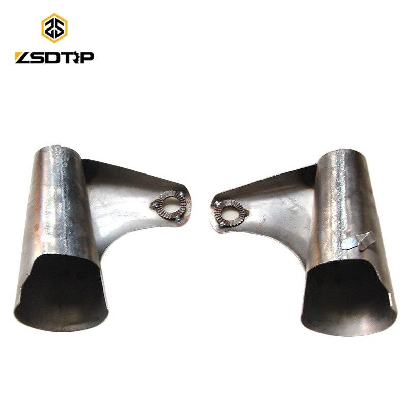 ZSDTRP CJ-KC750 Motor Steel Old Original Front Headlight Bracket Case For BMW M1 M71 R12 R71 Ural KC750 M72 Side Car Motor
