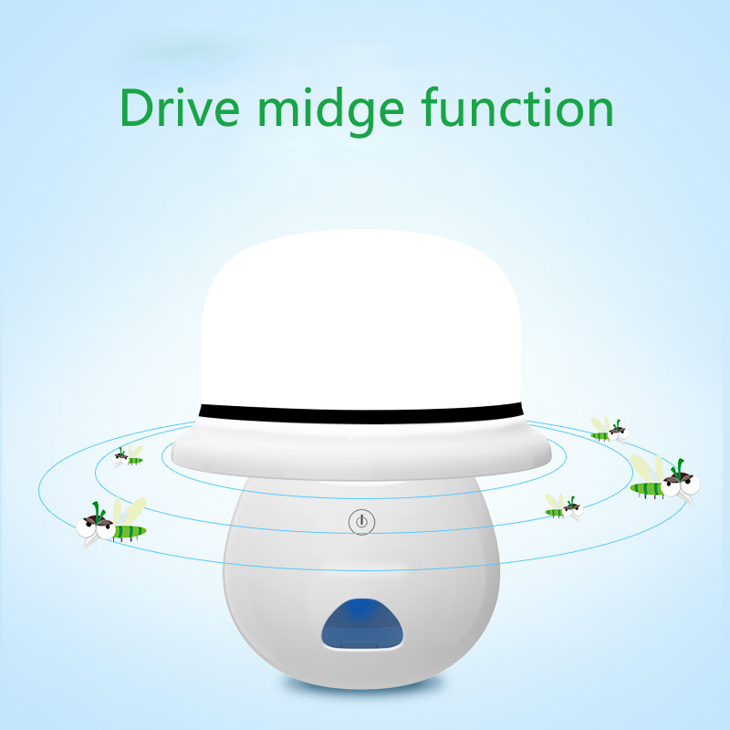 New Arrival!!! Multi-Funtion LED Night Lamp Mosquito Insect Electric Killer Catcher Air Freshener Drive Midge Night Light
