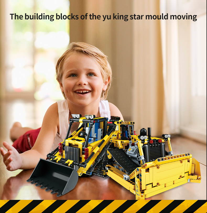389-537PCS DIY Dumper Truck Building Blocks Car Technic Mechanical Power Bulldozer Construction Toys For Boys Children 34