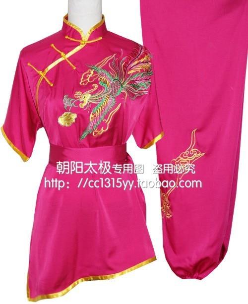 Customize Chinese wushu uniform taolu font b clothing b font Kungfu clothes Martial arts suit taichi