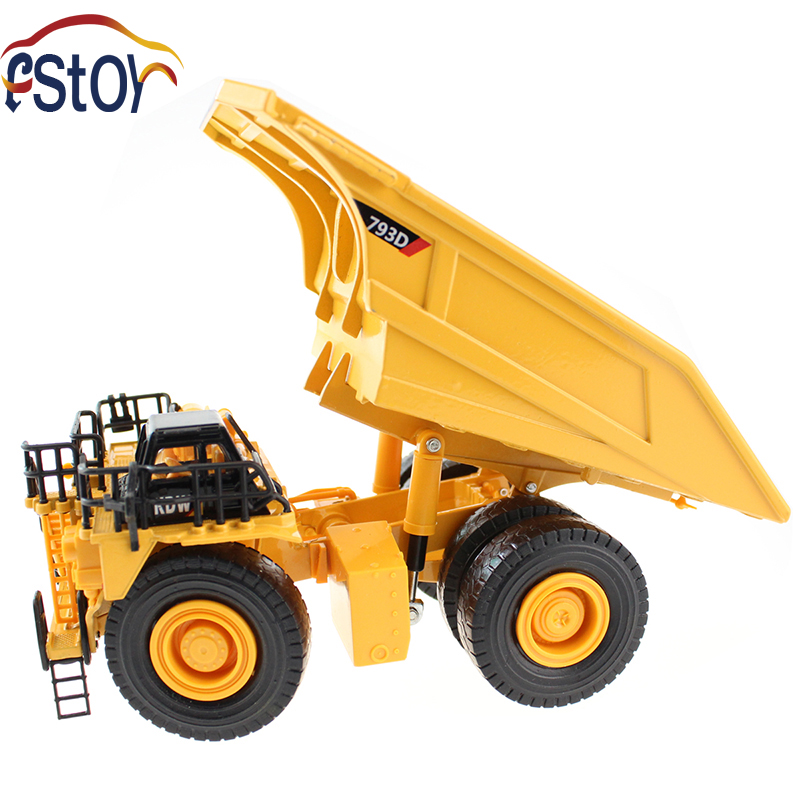 Alloy Diecast truck models dump 1:72 Engineering car vehicle scale Truck collection gift toy high simulation 1 40 scale diecast engineering vehicle mine dump truck metal model alloy toys collection for adult kids gifts