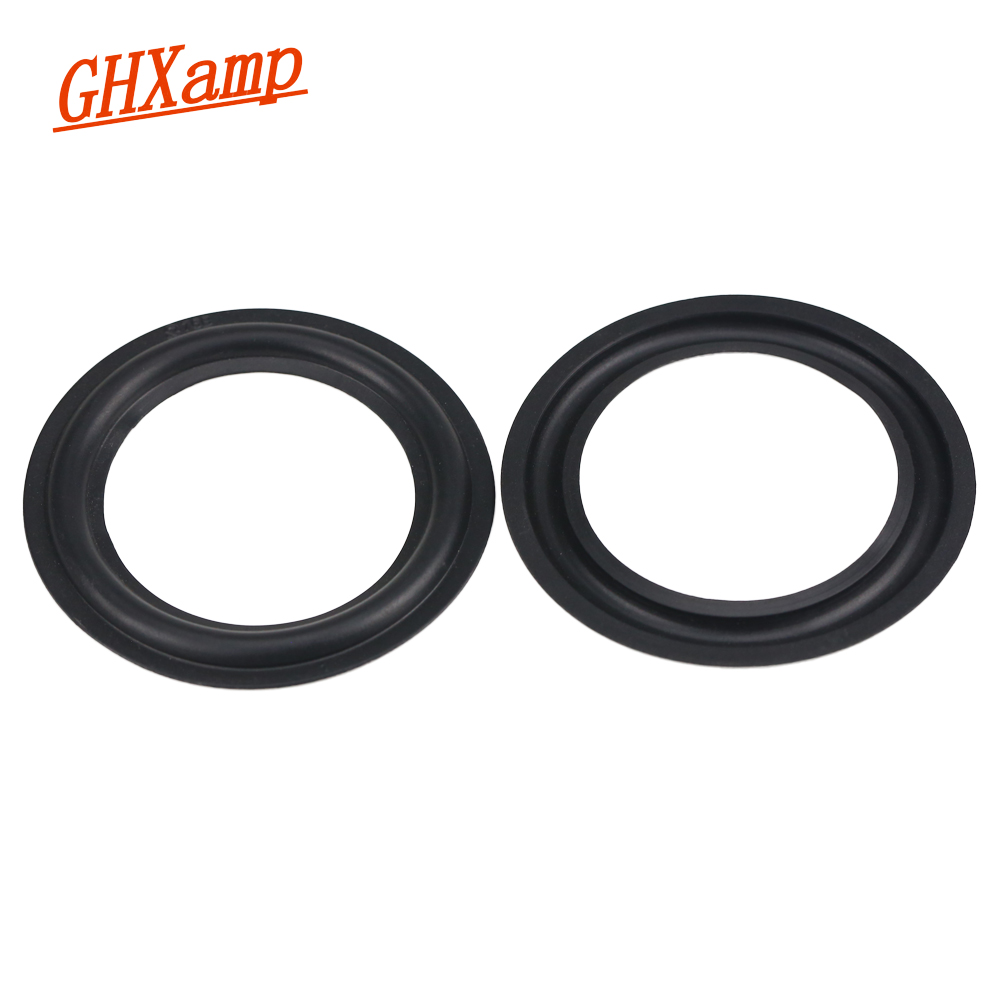 GHXAMP 3.5 INCH 76B Speaker Rubber Surround Side Repair Parts Folding Edge 2PCS