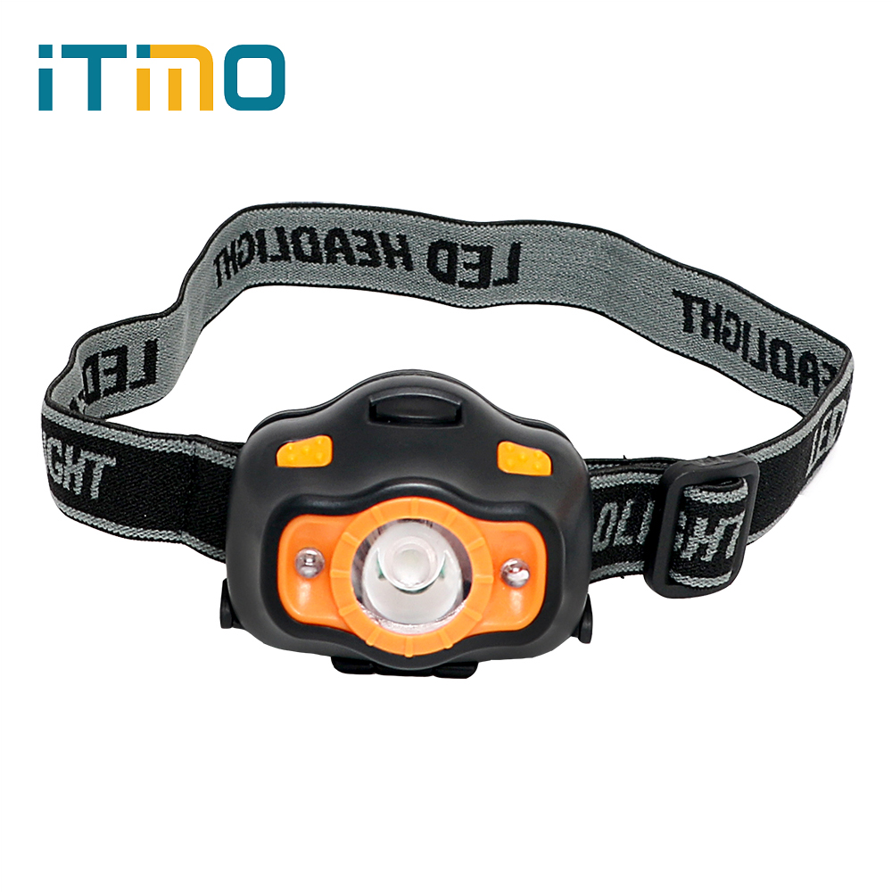 LED Headlamps Spotlight Emergency Light Torch 5 Modes Headlight Portable Lighting For Outdoor Activities Camping Fishing Hunting