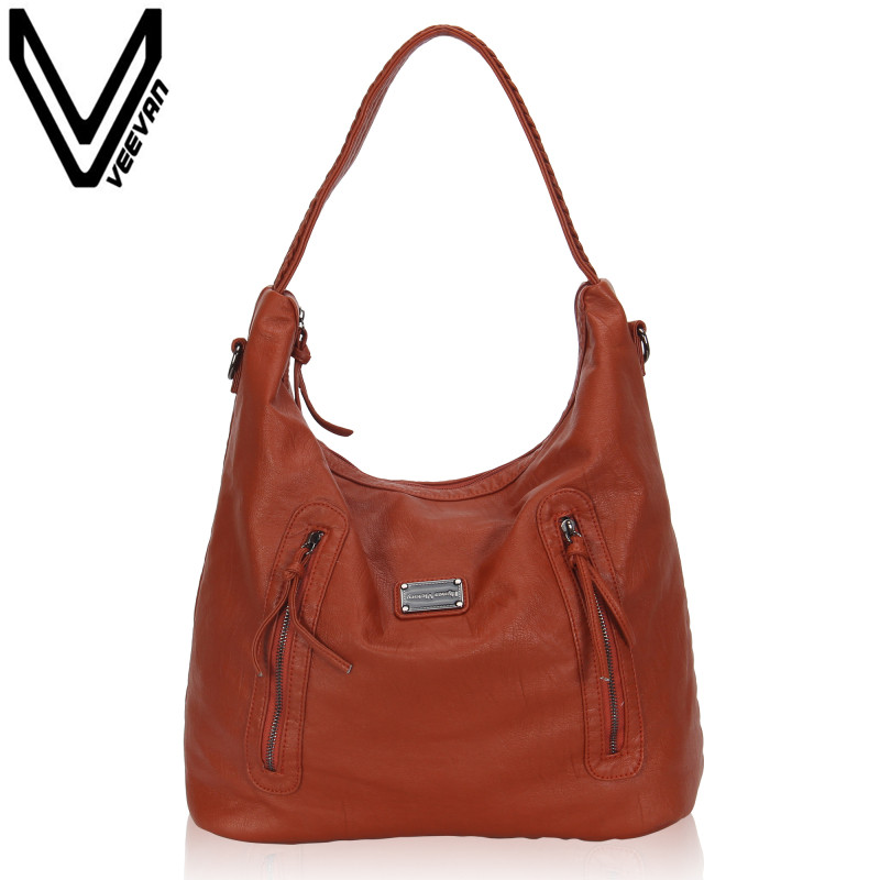 VEEVANV New 2017 Women Versatile Handbag PU Leather Bags Zipper Messenger Bag/ Splice Grafting Vintage Shoulder Crossbody Bags caerlif women crossbody bags genuine leather handbag women messenger bag splice grafting women handbag top handle shoulder bag