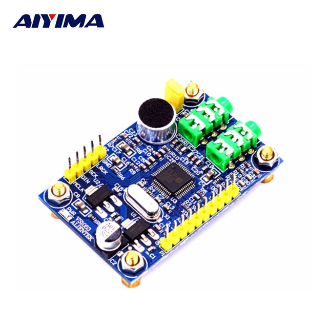 US $17 5 |AIYIMA ALIENTEK VS1053 Module MP3 Player Audio Decoding Board  STM32 Microcontroller Development Board Accessories-in Amplifier from  Consumer