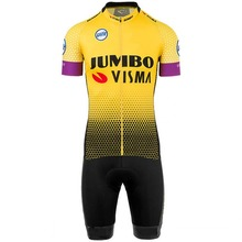 2019 pro team jumbo visma one piece cycling jersey skinsuits bike bodysuits MTB Ropa Ciclismo Bicycle speedsuit maillot GEL PAD