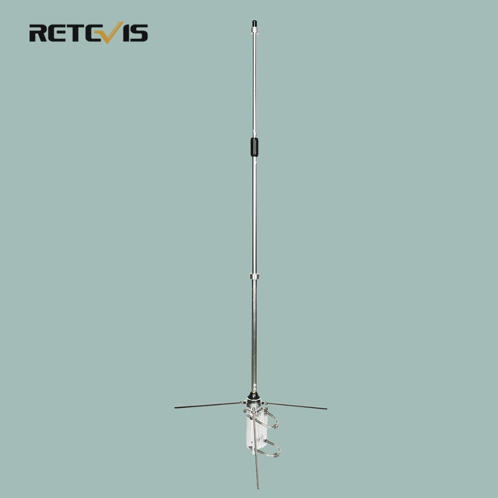 RETEVIS Glass Steel Omni-Directional Base Station Receiving And Transmitting Antenna (390-470Hz Or 135-174MHz) For RT97 Repeater