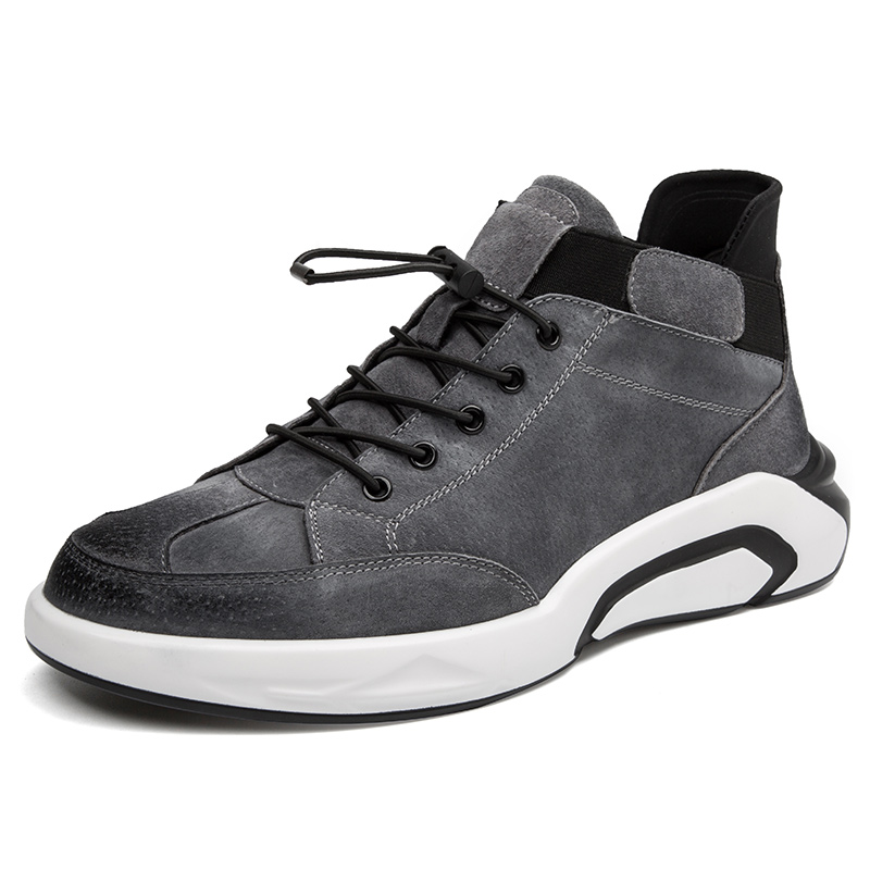2019 Fashion Men's Casual Shoes Sneakers Autumn Winter Breathable Comfortable Men Shoes Men Height Increasing Lace Up Shoes