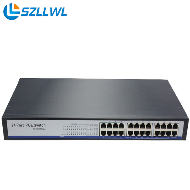Best Brand 24 Ports Poe Switch 48V power supply total 150W For Ip ...