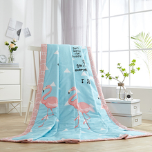 classical royal style light blue summer quilt 150*200cm 200*230cm size quilted Quilt thin bedding Blanket/ Plaids #2016130
