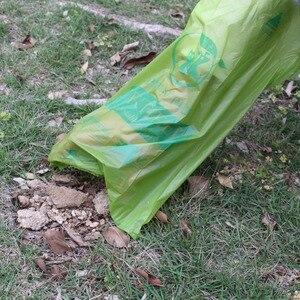 Image 4 - Biodegradable Dog Poop Bags Cornstarch Earth Friendly Zero Waste 17 Micron ASTM D6400 Cat Waste Bag пакеты для собак