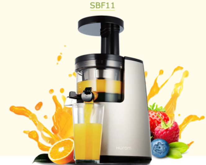 Slow Juicer Made In Korea : 2nd Generation 100% Original HUROM Elite HH-SBF11 blender Slow Juicer Fruit vegetable Citrus ...