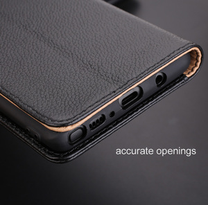 Image 5 - Lichee Pattern Leather Flip Cover Case For Samsung Galaxy Note 8 Note8 Deluxe Luxury Wallet inner TPU