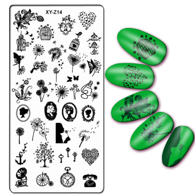 aliexpress com buy newest 32 designs 1pc nail stamping plate nail