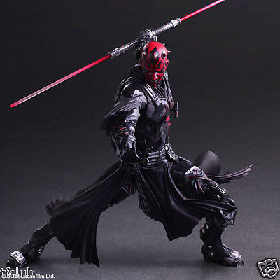 New Variant Play Arts Kai Star Wars No.4 Darth Maul Action Figure Statue Toy Toy Collectibles Model Doll 470 цена 2017