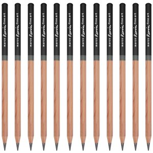 Image 2 - Marco Renoir Premium Juego de lápices para dibujo de arte profesional, caja de hierro, lápices de dibujo Pastel no tóxicos, 3001 12 Uds./H/F/HB/B/2B/3B