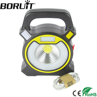15W COB LED Camping Emergency Lantern Lamp 18650 Powered 4 Switch Mode For Outdoor Hiking Tent