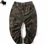 Mann Si Tun Chinos Kanye jogger designer städtischen Hip-hop-kleidung Herren Capri Ankle Camouflage overall Cargo-hosen Mode Camo