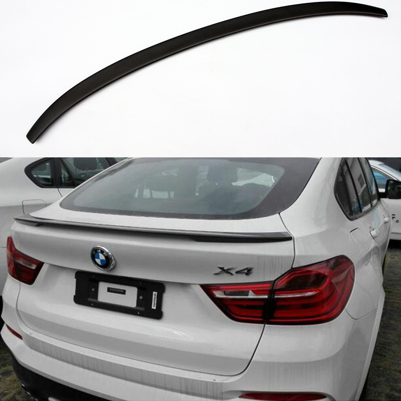 X4 F26 Performance Style Matt Carbon Fiber Auto Car Rear Trunk Spoiler Wing for BMW X4