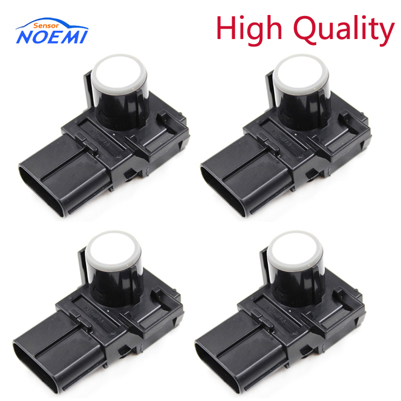 YAOPEI 4PCS 89341-33190 White color Front Parking Ultrasonic Sensor PDC Fits For Lexus LX570 RX350 RX450H 89341-33190-A0
