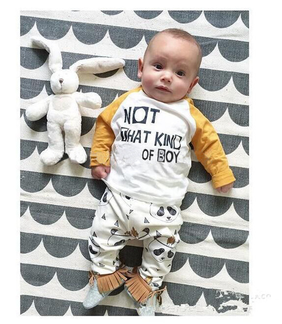 f043adb372 2017 New Arrive Outlet Baby Boys Clothing Suits Children Clothing Set  Fashion Kids Costumes 2Pcs T Shirts+Pants