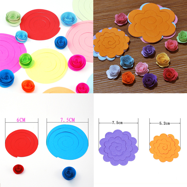 Quilling paper paper flowers origami 3d rainbow flower handmade quilling paper paper flowers origami 3d rainbow flower handmade material diy accessories mightylinksfo