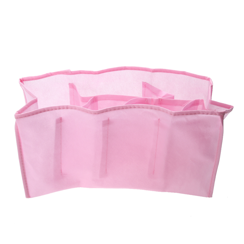 Free Shipping Portable Travel Outdoor Baby Diaper Nappy Organizer Stuffs Insert Storage Bag