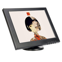 New arrival 1024*768 4:3 12.1 lcd monitor vga with AV/BNC/VGS/HDMI/USB interface