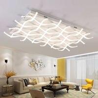 Rectangle Acrylic Modern Led Ceiling Lights For Living Room Bedroom Lamparas De Techo Colgante Square Led