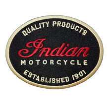 Motorcycle Embroidered Patches Indian Logo Rider Back For MC Vest Jacket Biker Lable Iron On Patches Stickers For Clothes