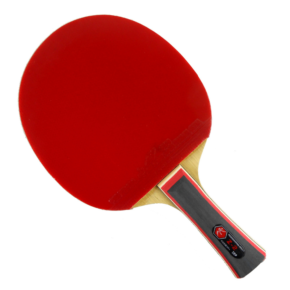 Pro Table Tennis (PingPong) Combo Racket: RITC 729 Z-2 Blade with 2x Globe 999 Rubbers LongShakehand FL