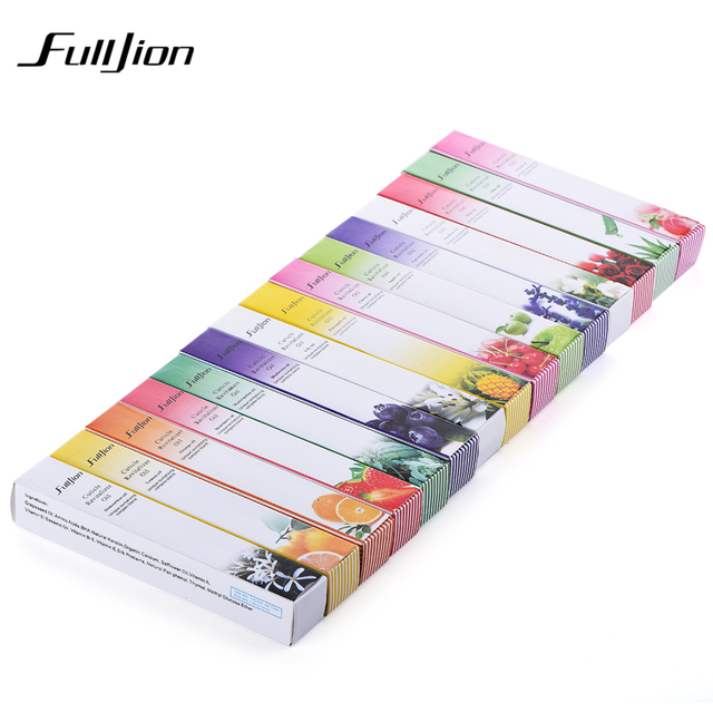 Fulljion Cuticle Revitalizer Oil Nail Treatment Nutritious Polish Nail Art Pen Refers to Margin Polish Armor Nails Repair