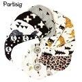 Brand Baby Hat Knit Cotton Cartoon Bear Batman Print Baby Caps For Boys Girls Spring Autumn Winter Children's Hats Child Beanie